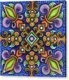 Botanical Mandala 3 Acrylic Print