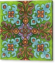 Botanical Mandala 4 Acrylic Print