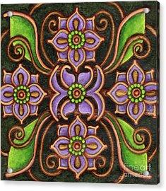 Botanical Mandala 6 Acrylic Print