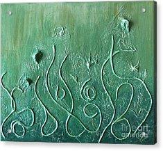 Botanical Maze Acrylic Print