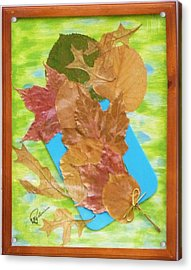 Bouquet From Fallen Leaves Acrylic Print