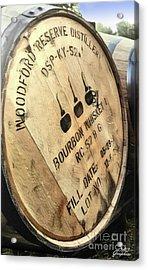 Bourbon Barrel Acrylic Print