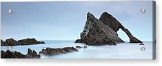 Acrylic Print featuring the photograph Bow Fiddle Rock In The Twilight by Grant Glendinning