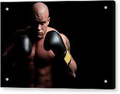 Boxer Acrylic Print by Vuk8691
