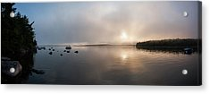 Acrylic Print featuring the photograph Branch Lake - Ellsworth Maine by Kirkodd Photography Of New England