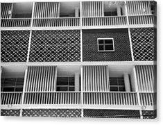 Brazilian Apartments Acrylic Print by Kurt Hutton