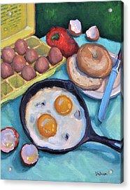 Breakfast Acrylic Print