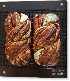 Breakfast Sourdough Swirls Acrylic Print