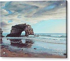 Bridge Rock Acrylic Print