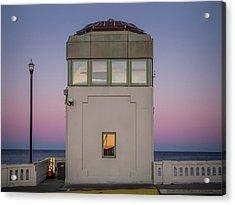 Bridge Tender's Tower Acrylic Print