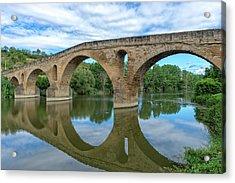 Bridge The Queen On The Way To Santiago Acrylic Print