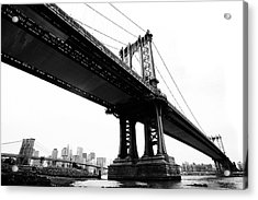 Bridges Acrylic Print by Blackwaterimages