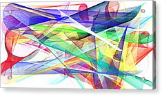 Bright Abstract 2 Acrylic Print