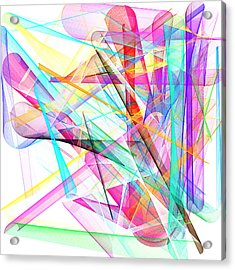 Bright Abstract Acrylic Print