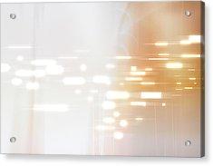 Bright Lights Abstract Acrylic Print