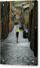Acrylic Print featuring the photograph Bright Spot In The Rain by Mark Duehmig