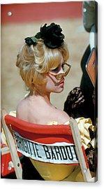 Brigitte Bardot Acrylic Print by Loomis Dean