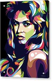 Brigitte Bardot Acrylic Print