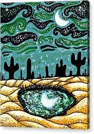 Bring The Moon On Earth Acrylic Print