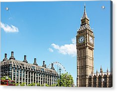 British Government Acrylic Print by Chris Mansfield