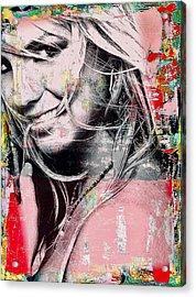Britney Baby Acrylic Print