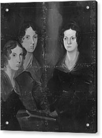 Bronte Sisters Acrylic Print by Rischgitz