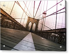 Brooklyn Bridge, New York City Acrylic Print