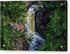 Brownstone Falls Acrylic Print