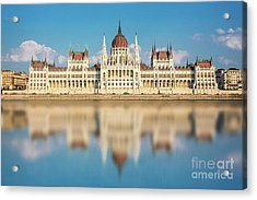 Budapest Parliament, Hungary Acrylic Print