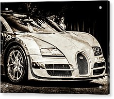 Bugatti Legend - Veyron Special Edition -0844scl2 Acrylic Print