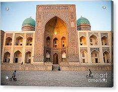 Bukhara, Uzbekistan - July 30, 2012 Acrylic Print