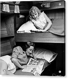 Bunk Beds Acrylic Print by John Drysdale