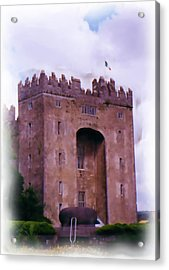 Bunratty Castle Painting Acrylic Print