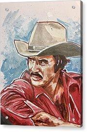 Burt Reynolds Acrylic Print
