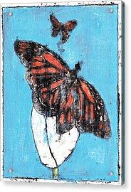 Butterfly Garden Summer 1 Acrylic Print