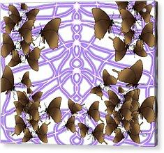 Butterfly Patterns 14 Acrylic Print
