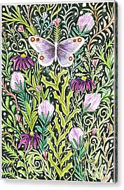 Butterfly Tapestry Design Acrylic Print