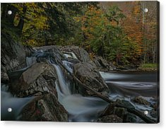Acrylic Print featuring the photograph Buttermilk Falls by Juergen Roth