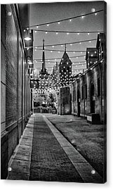 Bw City Lights Acrylic Print