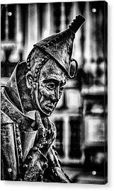 Bw Tinman Acrylic Print