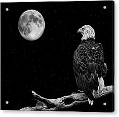 By The Light Of The Moon Acrylic Print