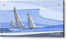 C-class Yachts Acrylic Print