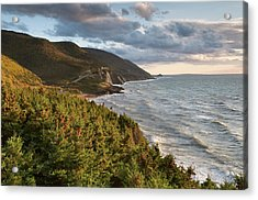 Cabot Trail Scenic Acrylic Print by Shayes17