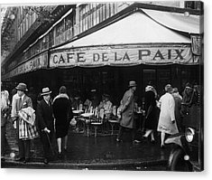 Cafe De La Paix Acrylic Print