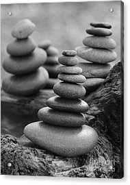 Acrylic Print featuring the photograph Cairn Gathering by Jeni Gray