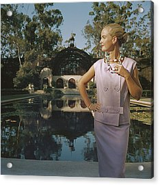 California Fashion Acrylic Print by Slim Aarons