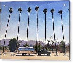 California Honeymoon Acrylic Print