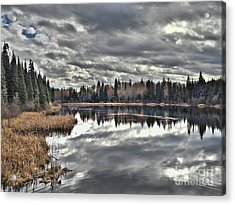 Calm Before The Storm Acrylic Print