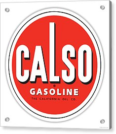 Calso Sign Acrylic Print