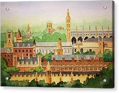 Cambridge Uk Acrylic Print